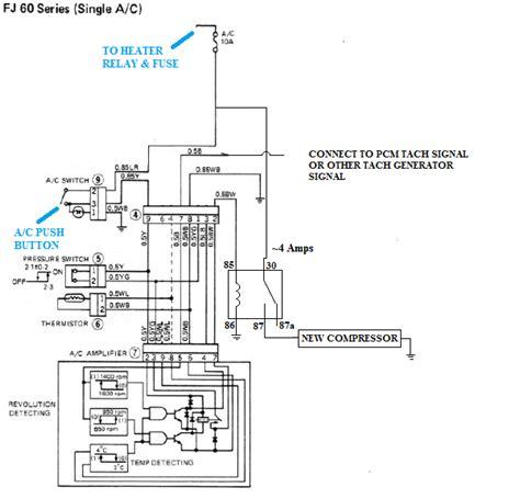 Gm A C Compressor Wiring Diagram by V8 Compressor With Toyota A C Wiring Diagram Ih8mud