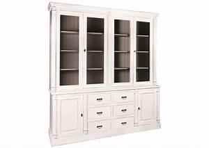 Vaisselier Pin Massif : acheter votre vaisselier en pin massif style anglais portes et tiroirs chez simeuble ~ Teatrodelosmanantiales.com Idées de Décoration