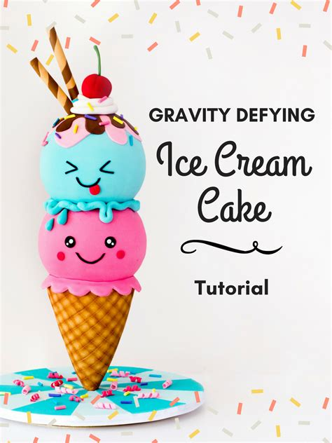 ice cream cake tutorial