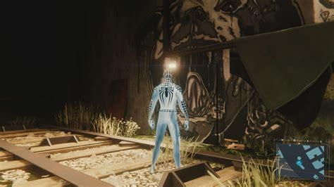 dark suit  spider man ps black cat