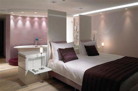 chambre avec italienne suite parentale dans des teintes de mauves chambres