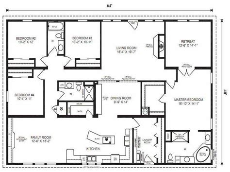 Master Bedroom Floor Plans by Modular Home Floor Plans Modular Home Floor Plans Master