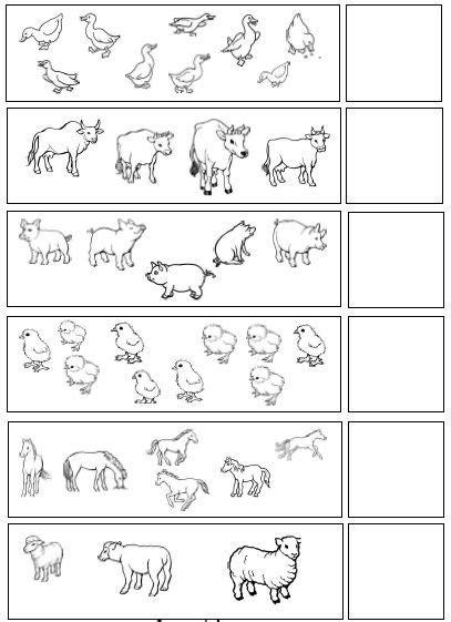 printable farm worksheet  kids  images