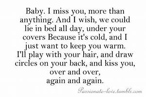 baby i miss you | Quotes and pics | Pinterest