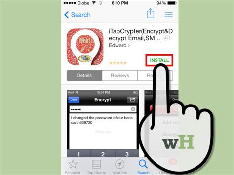 app to hide text messages iphone 3 ways to hide text messages on your iphone wikihow
