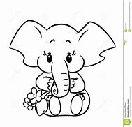 HD Wallpapers Simple Elephant Coloring Pages