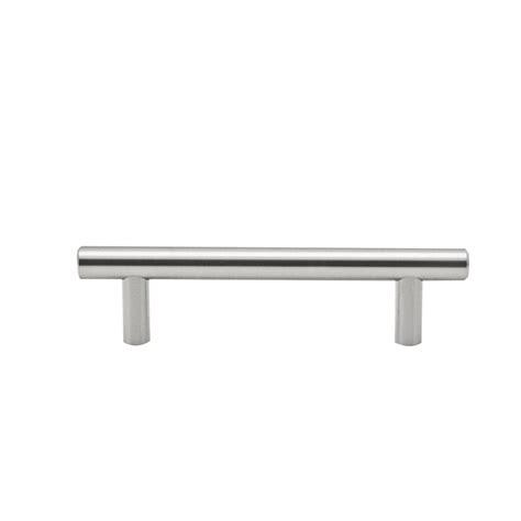Bunnings Cupboard Handles by Prestige 128mm Brushed Nickel Ikonic Cupboard T Handle