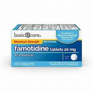 Basic Care Maximum Strength Famotidine 20 Mg