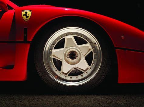 ferrari f40 wheels manufacturer alloy wheels in pictures evo