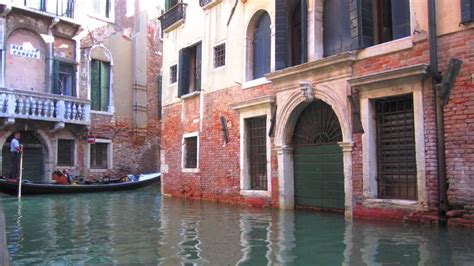 Where The Streets Are Water Venice Italy Youtube
