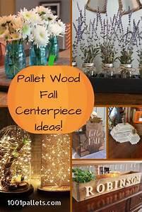 6 Pallet Fall Centerpiece Ideas That Will Brighten