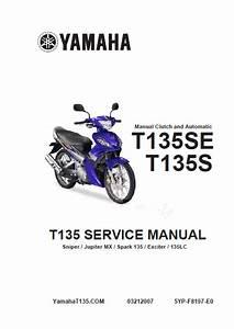 Buku Manual Yamaha Jupiter Mx