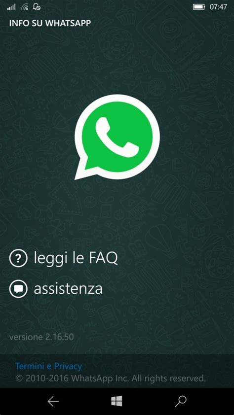 whatsapp beta for windows phone updated with improved chat interface