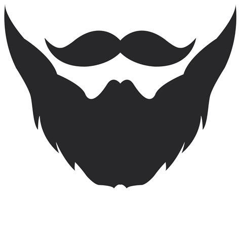 Beard Clip White Bearded Clipart Clipground