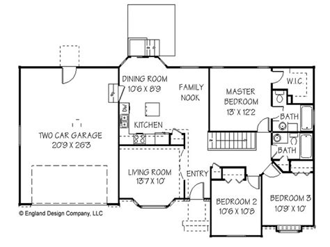 simple floor plans simple ranch house plan unique ranch house plans simple