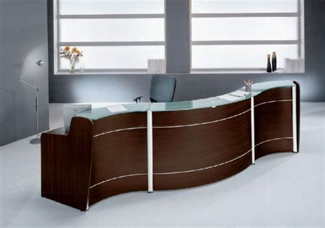 reception desk modern office wood corner desk diy quick woodworking projects