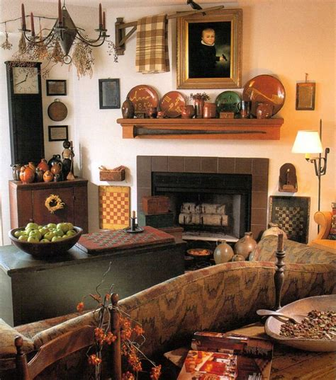 country home interior 115 best living room images on primitive decor