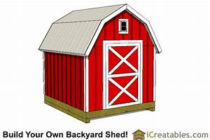 8x10 shed plans diy storage shed plans building a shed With 8x10 barn shed