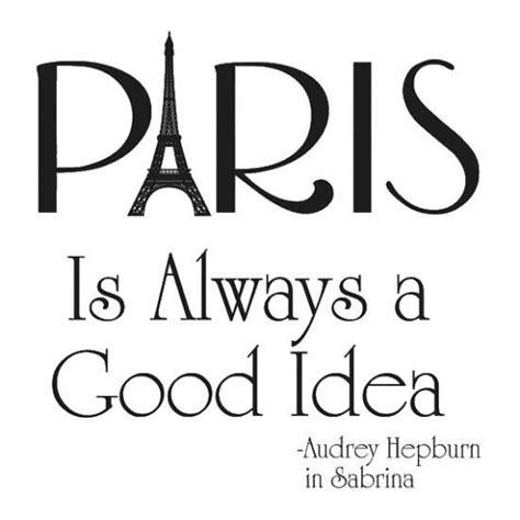 paris    good idea audrey hepburn travel