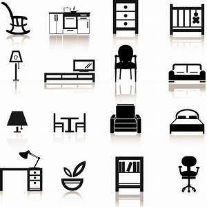 Furniture Icons Free vector in Adobe Illustrator ai ( .AI ...