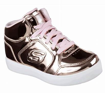 Lights Skechers Trainers Gold Energy Rose Dance