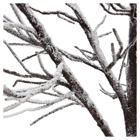 buy festive 5ft natural snow effect twig christmas tree