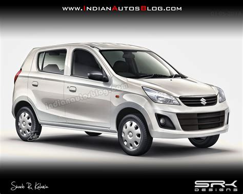 IAB Rendering - Maruti Alto 800 Facelift
