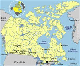Carte Du Canada Le Monde En Marche by Introduction Canada Fellah Trade
