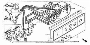 Honda Ex5500k2 A  A Generator  Jpn  Vin  Ea1