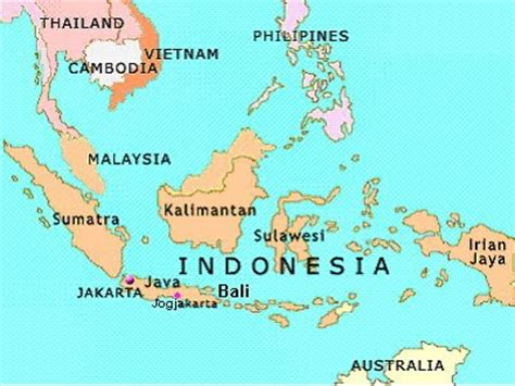 maps  indonesia islands  printable maps