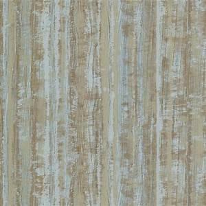Brewster Turquoise Radiance Stripe Texture Wallpaper ...
