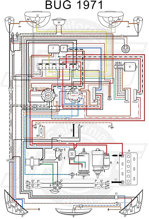 vw tech article  wiring diagram