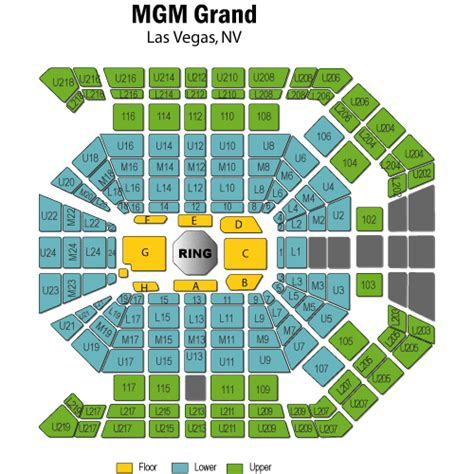 mgm grand garden arena seating mgm grand ka seating chart pdf coopmediaget