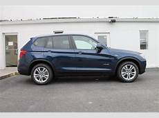2016 Deep Sea Blue Metallic BMW X3 SUVs roanokecom