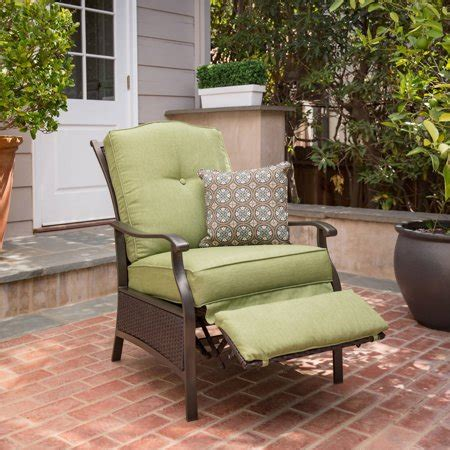 Yard Furniture by Better Homes And Gardens Providence Outdoor Recliner
