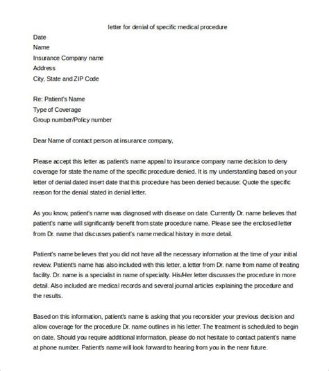 Sample insurance appeal letter from www.patientadvocate.org. insurance letters template Ten Taboos About Insurance