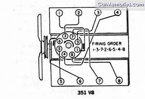 1989 351 Firing Order Diagram - 80-96 Ford Bronco Tech Support - 66-96 Ford Broncos