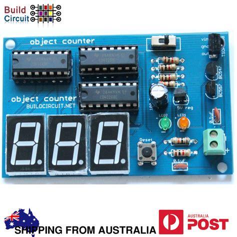 Digit Digital Object Counter Diy Kit Buildcircuit