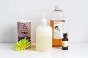 Insecticide Savon Noir Bicarbonate : diy liquide vaisselle au savon noir mango and salt ~ Dailycaller-alerts.com Idées de Décoration