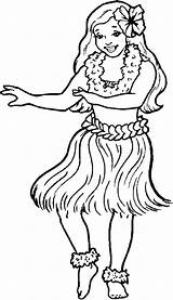 Hula Coloring Pages Clipart Hawaiian Dancer Printable Dancers Template Dance Clip Fun2draw Hoop Sky Cliparts Sketch Clipground Miracle Timeless Shortcake sketch template