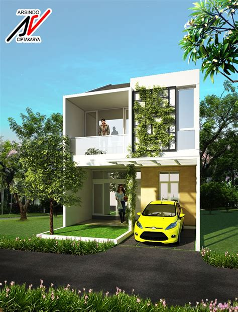 desain rumah sederhana tempo dulu contoh