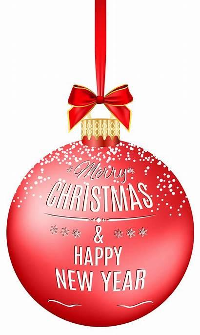 Merry Clip Transparent Ball Happy Clipart Ornament