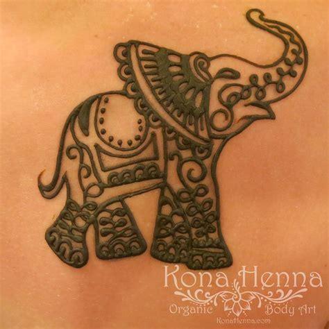 Henna Tattoo Hand Elephant Cekresi Jne 2018