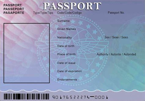 Us Passport Photo Template by Passport Template Passport Template 19 Free Word Pdf Psd