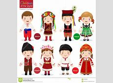 Traditional Costume clipart polish national Pencil and