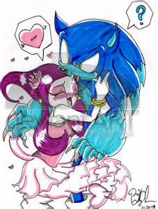 Sonic and Werehog Ghost Girl
