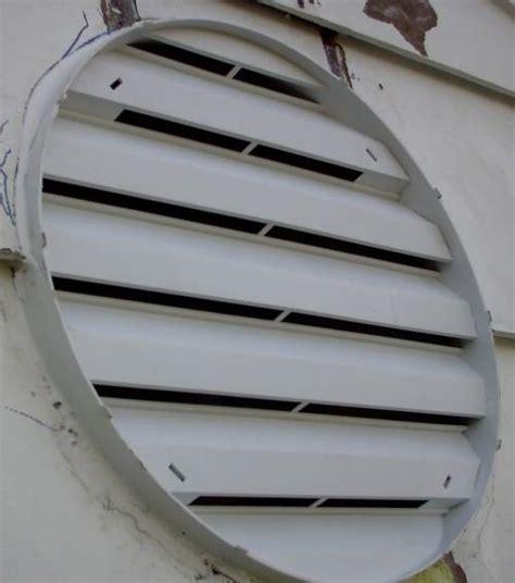 attic fan louver cover installation of attic gable vent fans gable vents