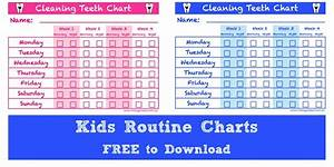Cleaning Teeth Chart … Free to Download