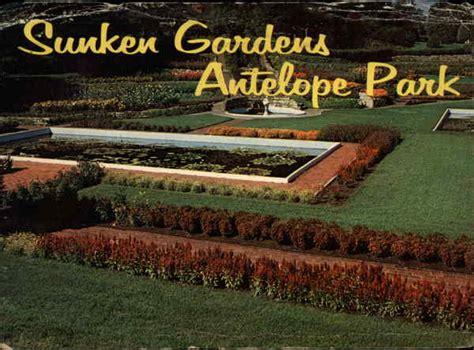 sunken gardens antelope park lincoln ne