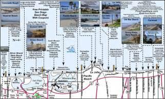 San Diego Beach Map